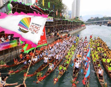 Hong Kong wins Gay Games XI 2022 bid