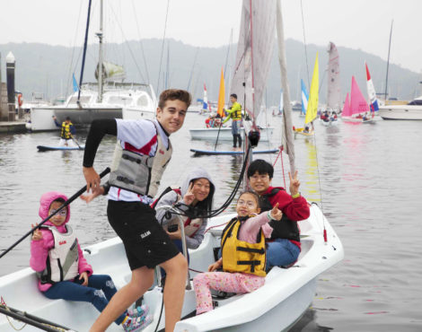 Hebe Haven Sailing Centre Open Day Mar 19