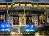 Michael Craig-Martin sculpture makes Asia debut at The Peninsula Fountain