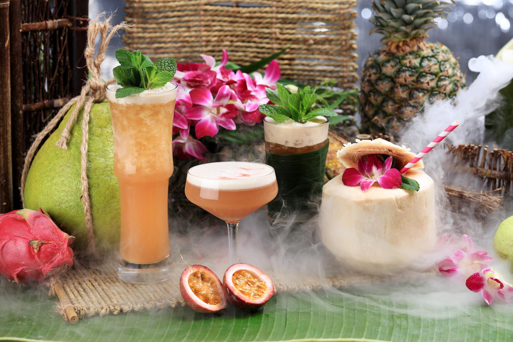 Vibes' Tiki Cocktails