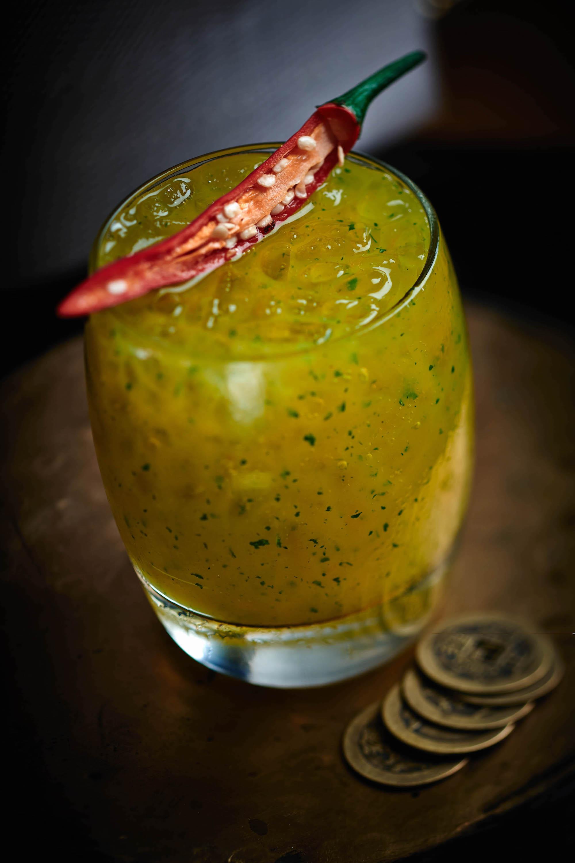 Duddell's Spicy Mango Cooler