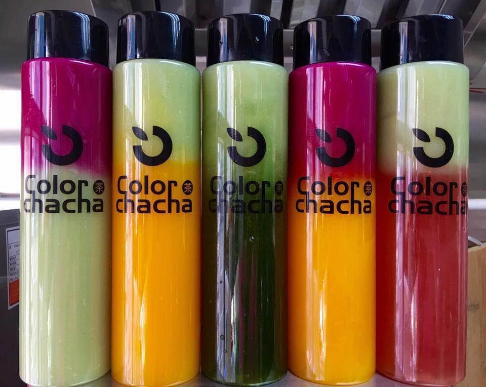 Color Chacha's colourful drinks
