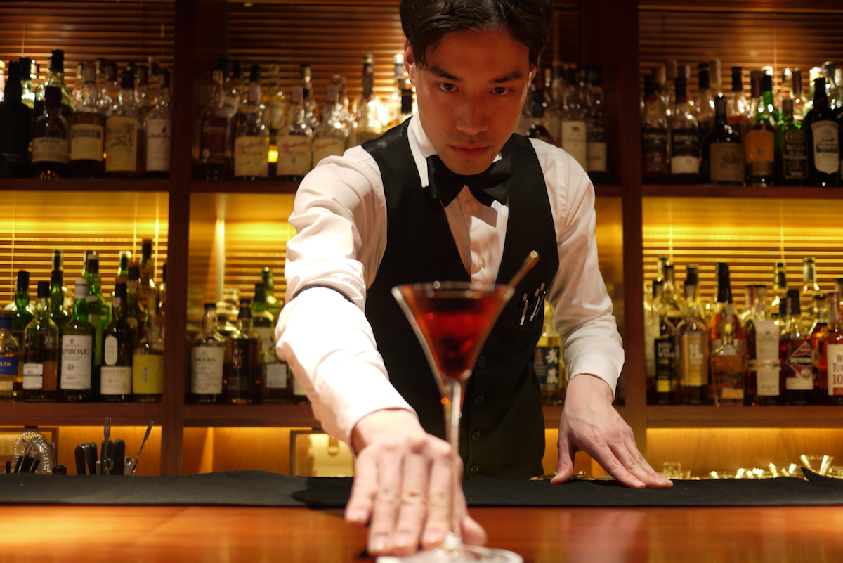 Yuta at Bar Butler