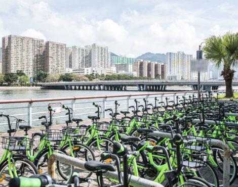 gobee.bike bike-sharing service launches in Hong Kong