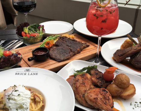 Moms eat free May 8-14 at BRICK LANE in celebration of Mother's Day