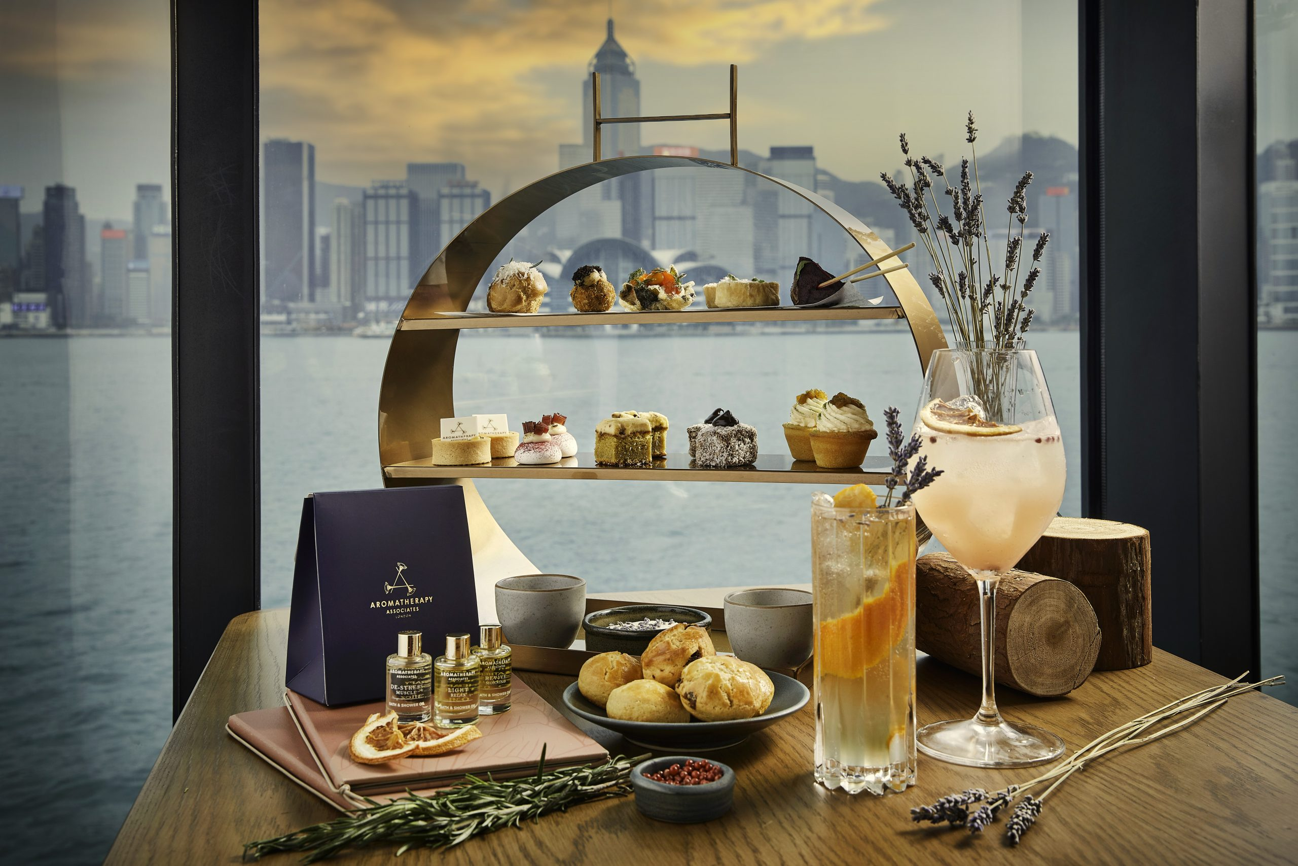 HUE serves on of the best afternoon teas in Hong Kong
