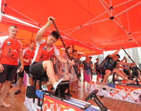 Hong Kong Dragon Boat Carnival June 2-4