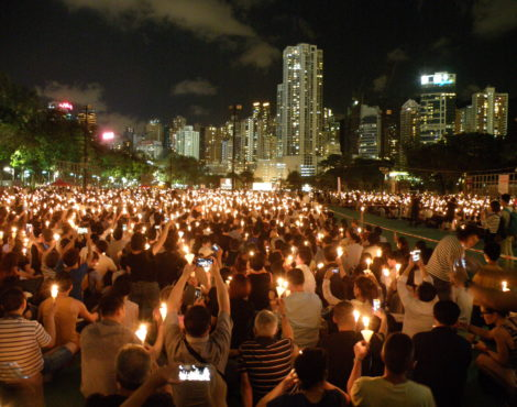 Candlelight Vigil for the 28th Anniversary of June 4