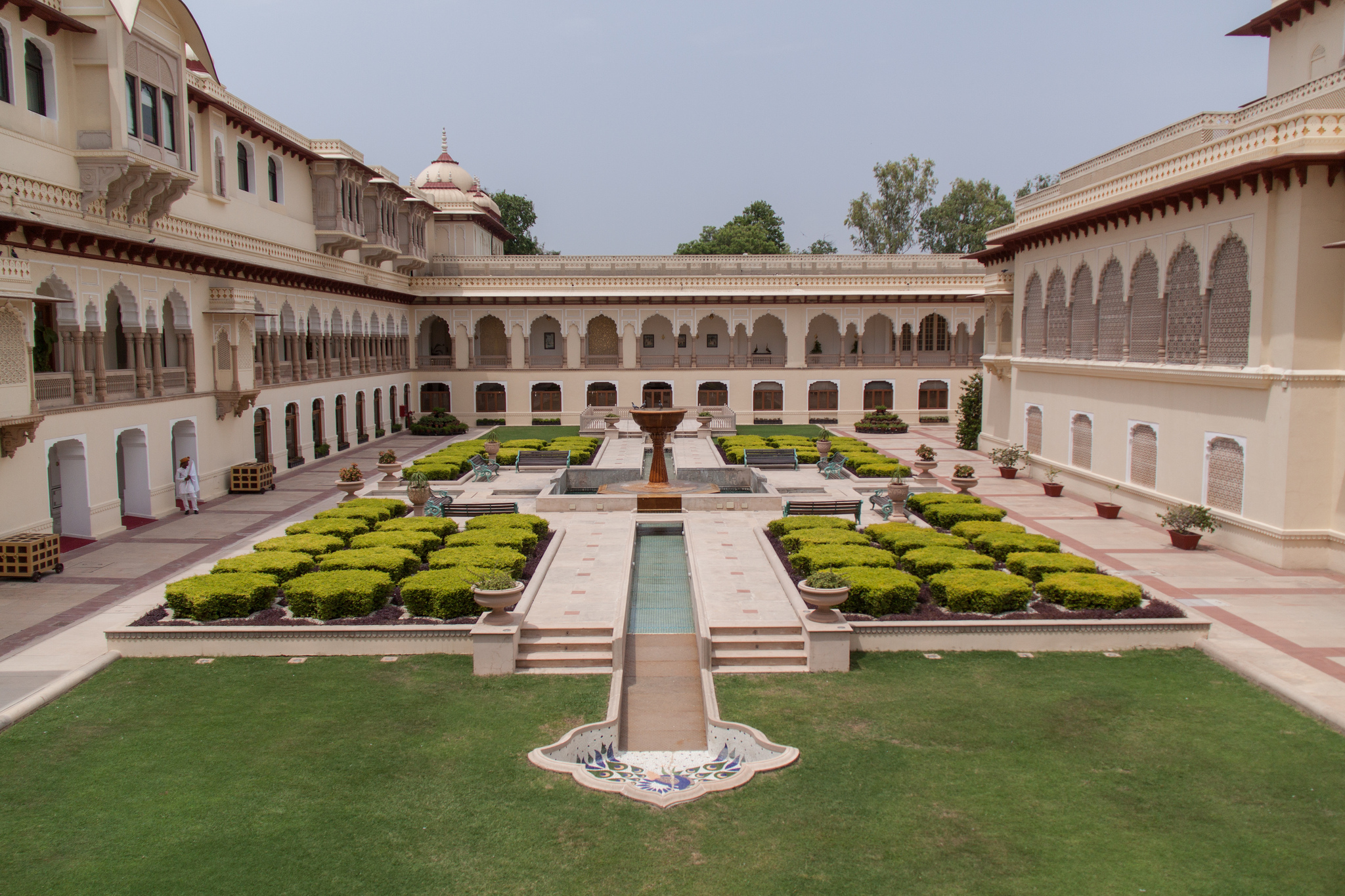 Rambagh Palace. Photo: Arnie Papp / Flickr CC