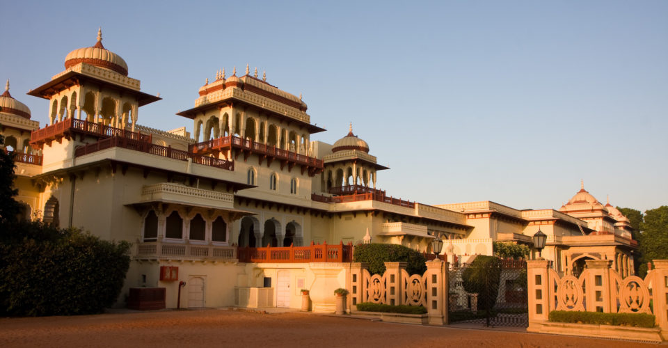 Rambagh Palace. Photo: Garrett Ziegler / Flickr CC