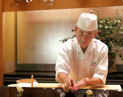Yosuke Imada of Ginza Kyubey is guest chef at The Ritz-Carlton June 9-18