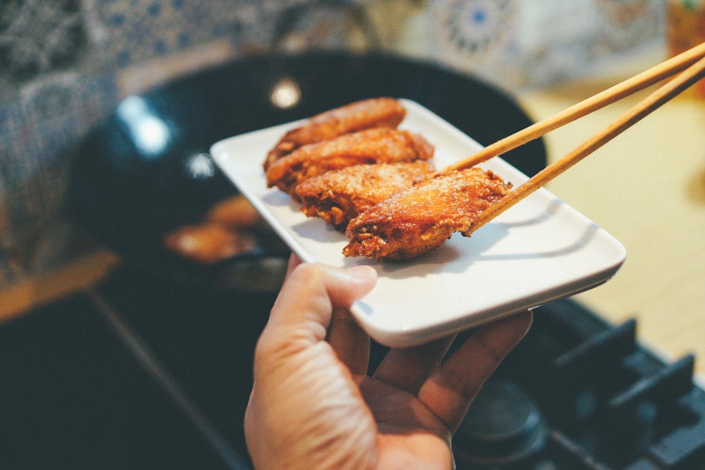 Shrimp paste chicken wings