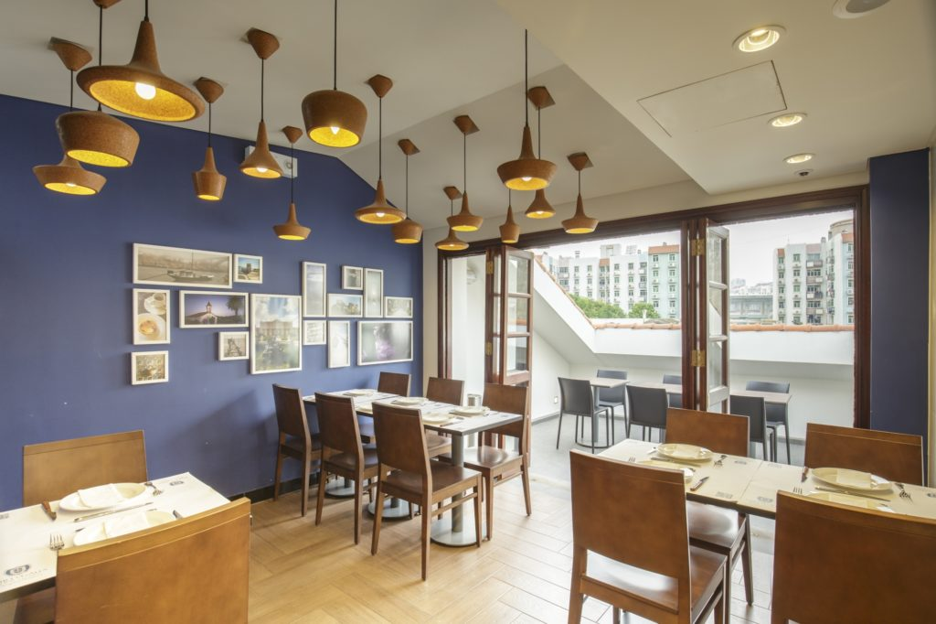 Three floors are open for dining at Portugalia