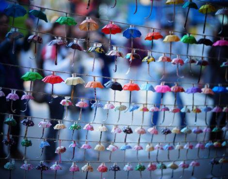 Rally commemorates Umbrella Movement's third anniversary