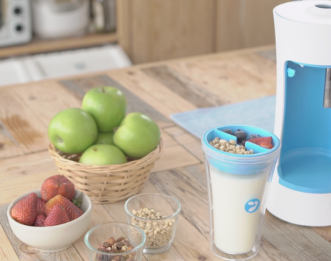 Make your own yogurt at home with Yomee