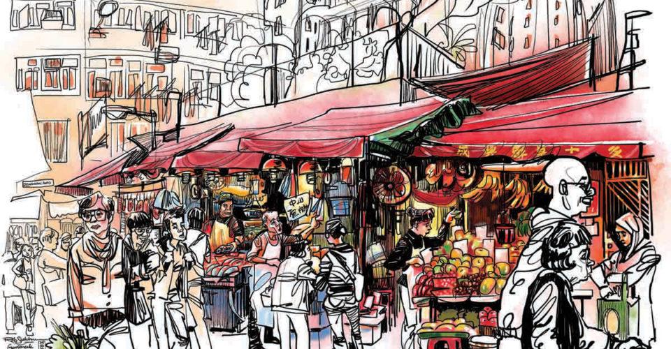 Gooseneck Market by Rob Sketcherman