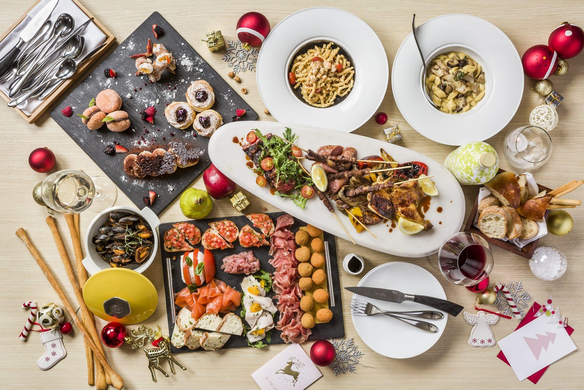 Operetta Christmas Sharing Menu 2017
