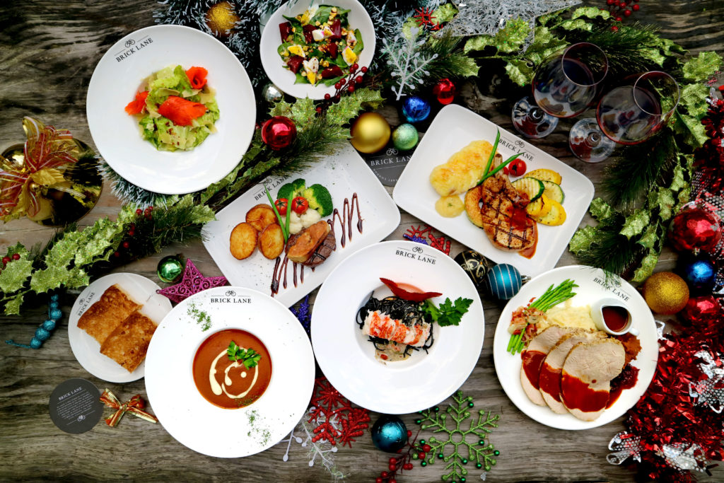 Brick Lane Christmas menu