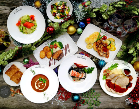 Brick Lane's Christmas and New Year menus