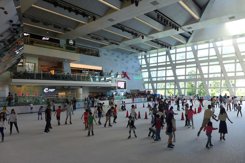 Festival Walk. Photo by Wikipedia user Wpcpey