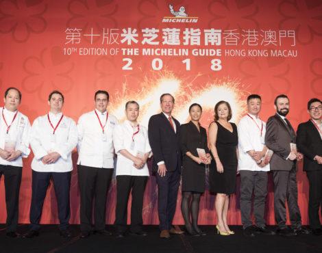 Michelin Guide Hong Kong Macau 2018 results