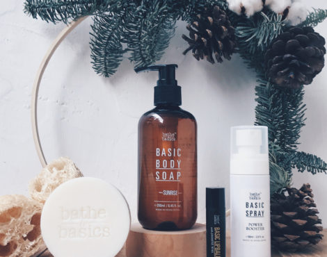 Bathe to Basics Christmas Gift Set 2017