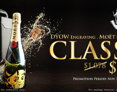 DYOW Holiday Champagne Special 'til Dec 31