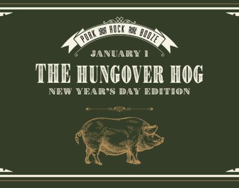 The Hungover Hog at Rhoda Jan 1, 2018