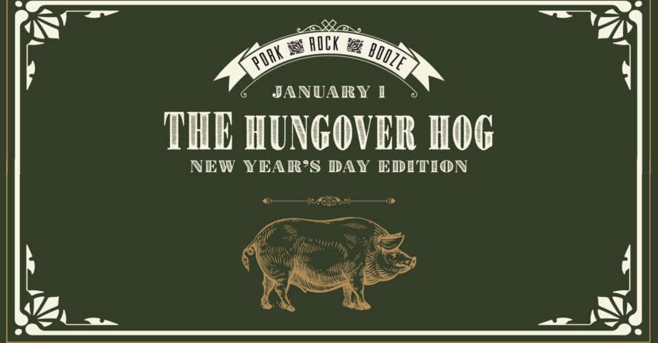 Rhoda The Hungover Hog