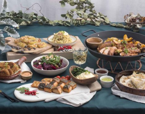 HABITŪ Christmas catering comes with butler option