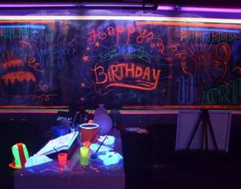 Spotlight: Chalk Party