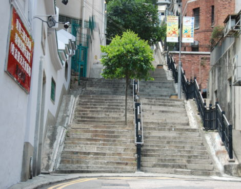Ladder Street: Hong Kong's historic stone staircase