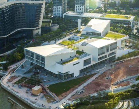 New cultural center Design Society opens in Shenzhen