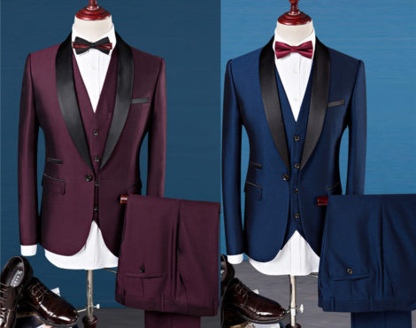 Tuxedo and business suit Chinese New Year promotion
