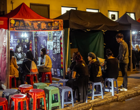 Temple Street Night Market's fortune tellers