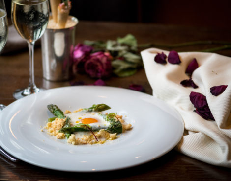 Romantic but relaxed Valentine's Day set dinner at Aberdeen Street Social