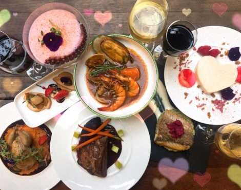 Personalized Valentine Dinner at OM Tapas