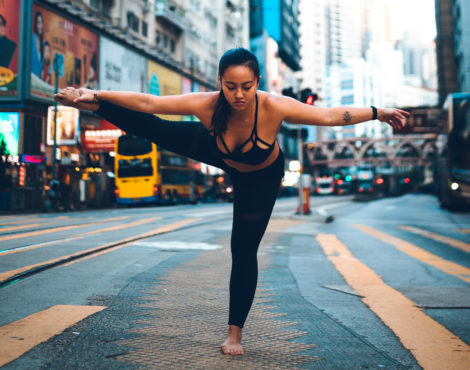 Jessica Lee on getting started with acro yoga