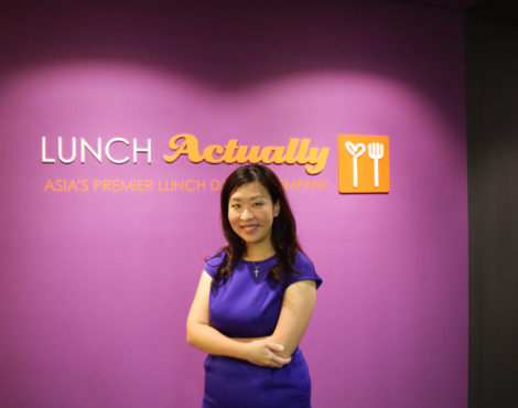 Next Up: Violet Lim of Lunch Actually