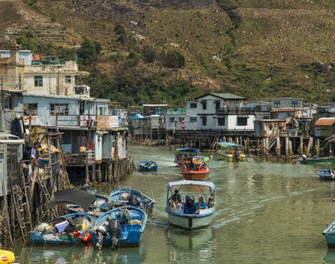 Walking on Water: the Tai O Dragon Boat Water Parade