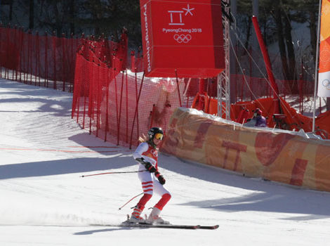Arabella Ng is the first Hongkonger to participate in a Winter Olympics snow event
