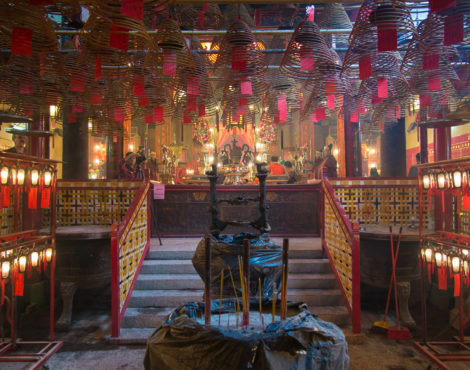 The Secret History of Man Mo Temple