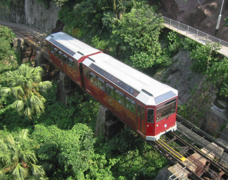 The Peak Tram re-opens after three months of renovations