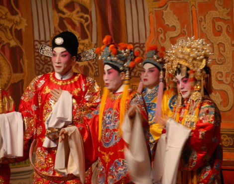 Cantonese opera's journey through China