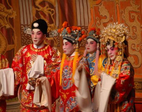 Cantonese opera's journey through China