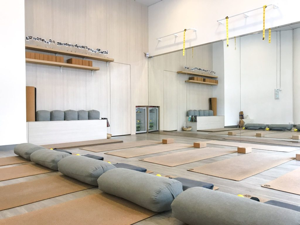 Lemondrop Studio, one of the best boutique yoga studios in Hong Kong.
