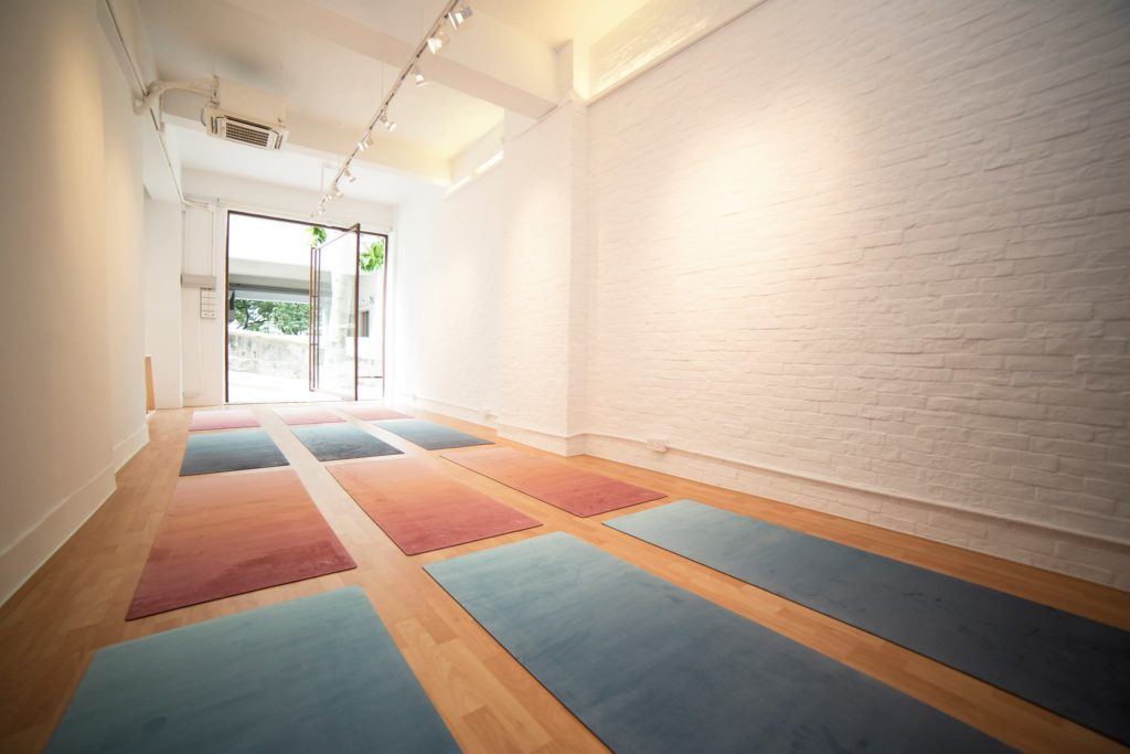 Kita Yoga, one of the best boutique yoga studios in Hong Kong.
