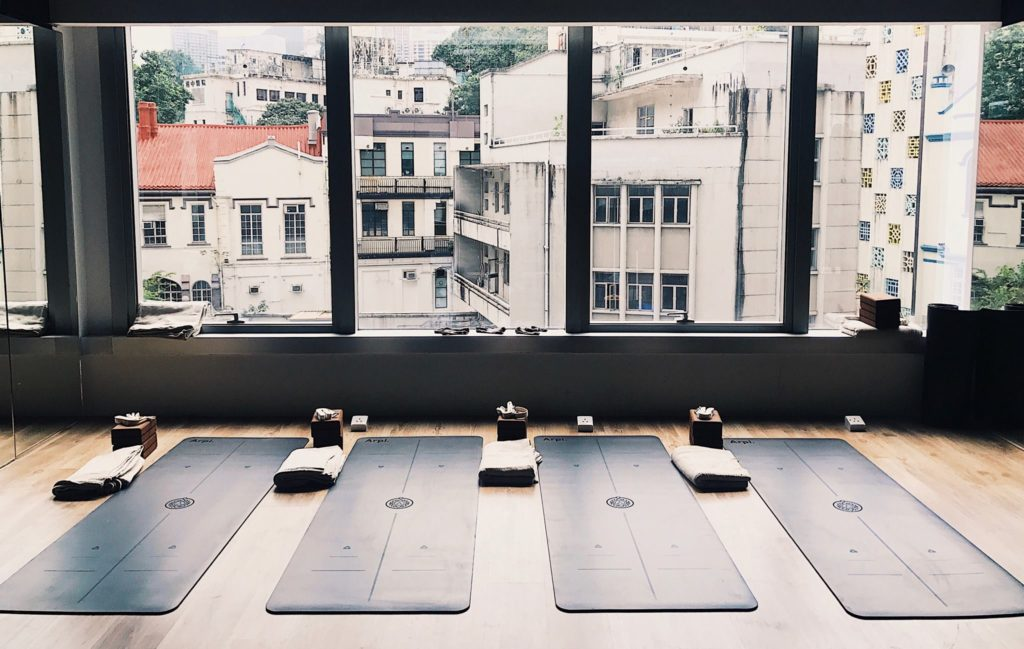 The Practice, one of the best boutique yoga studios in Hong Kong.