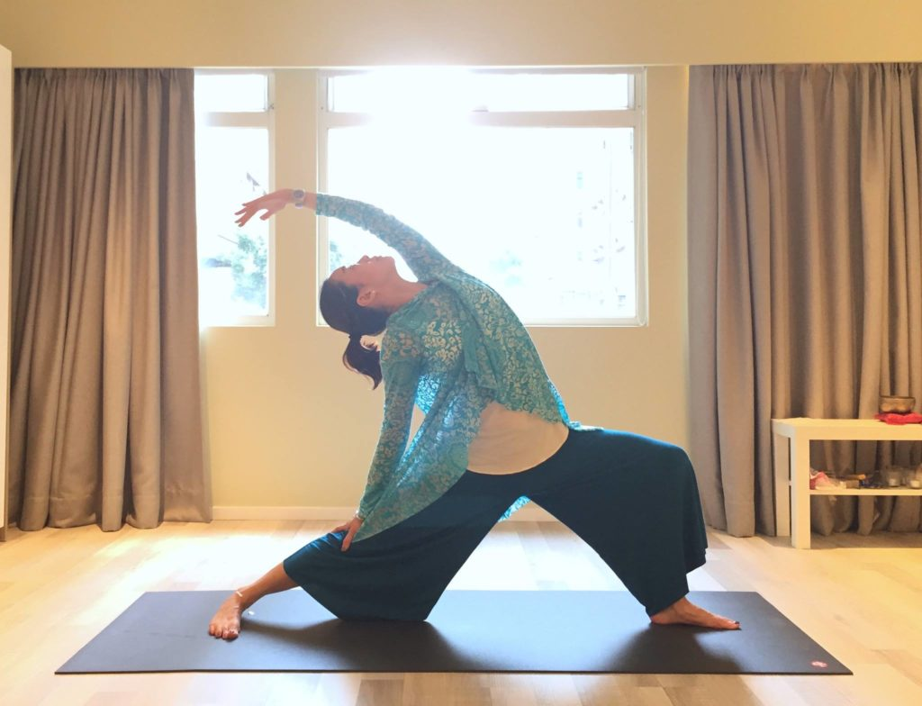 Yoga Aloha, one of the best boutique yoga studios in Hong Kong.
