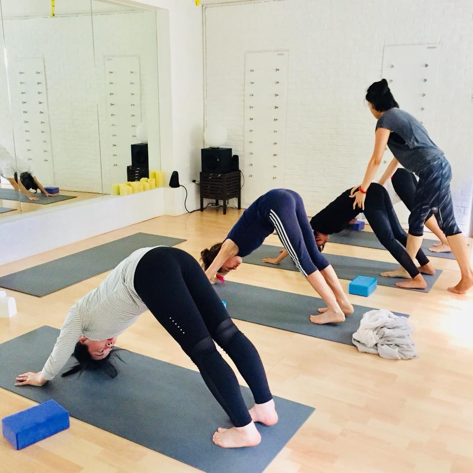 Anhao Wellness, one of the best boutique yoga studios in Hong Kong.